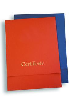 Конверт для сертификата 2