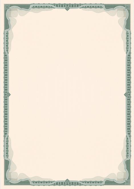 бумага с водяным знаком трилистник